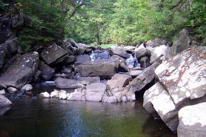 Cascading Pools On Putnam Creek