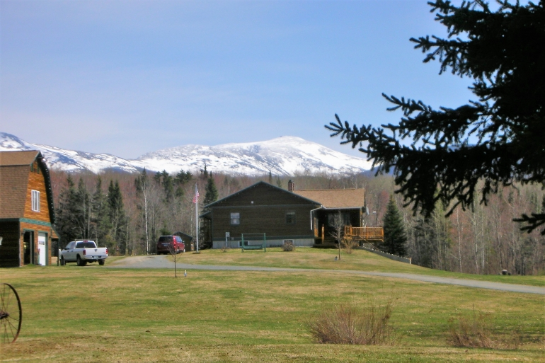 Mount Washington Looms Above The Property
