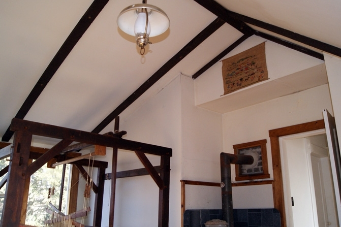 A Vaulted, Chalet-Style Ceiling In The East Addition