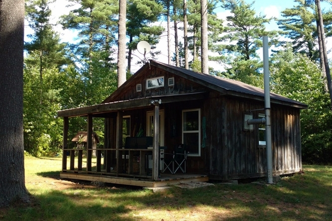 Waterfront Camp Lease