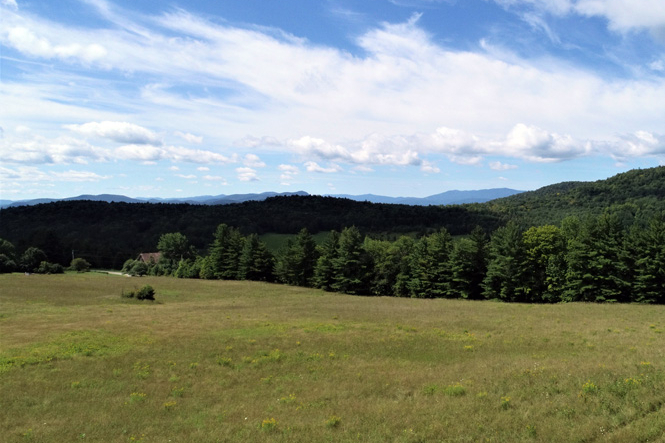 Long-Range Views Toward Waitsfield And Sugarbush Resort