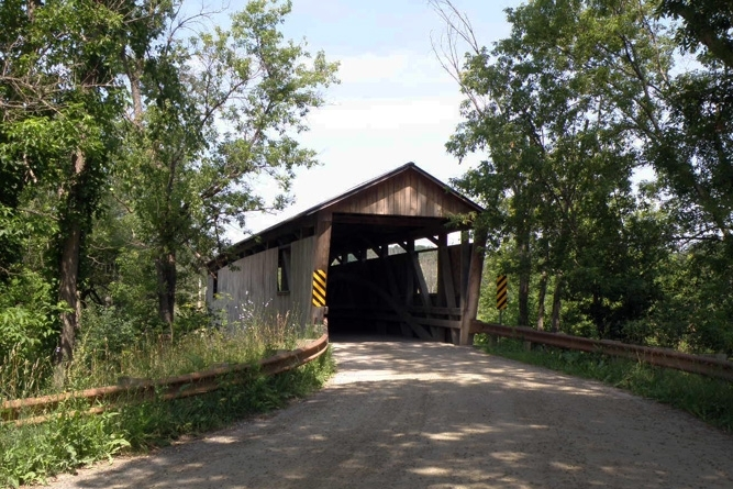 Lewis Creek Covered Bridge Near Property