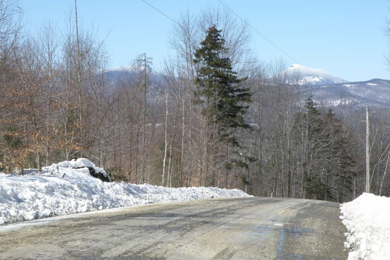 Road Frontage With Camels Hump In View