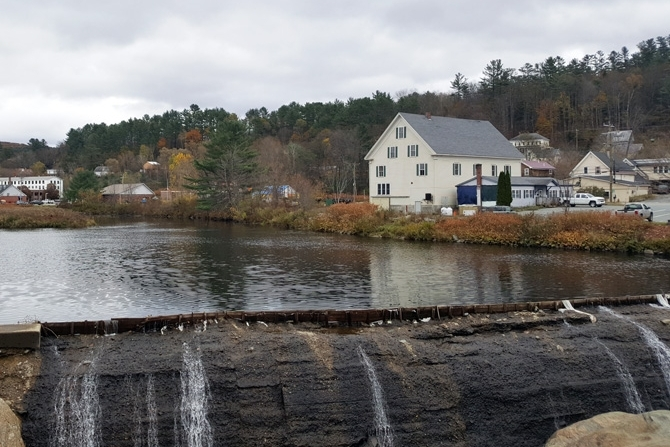 Lisbon Village Is An Historical Mill Town On The Ammonoosuc River.