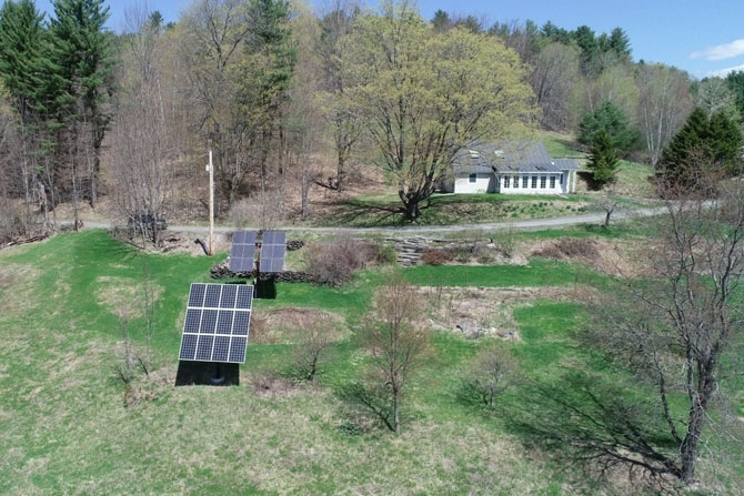 Two Solar Arrays Offer Net-Metering Electric Power