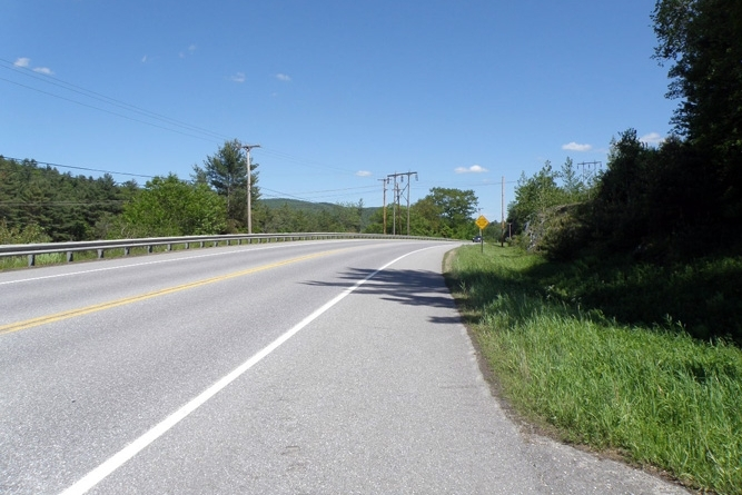 Route 100B Road Frontage