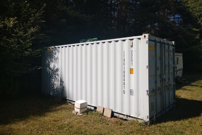 Storage Unit Available For Equipment